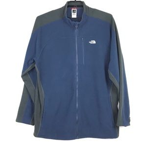 The North Face Full Zip Fleece Jacket 2XL Polartec